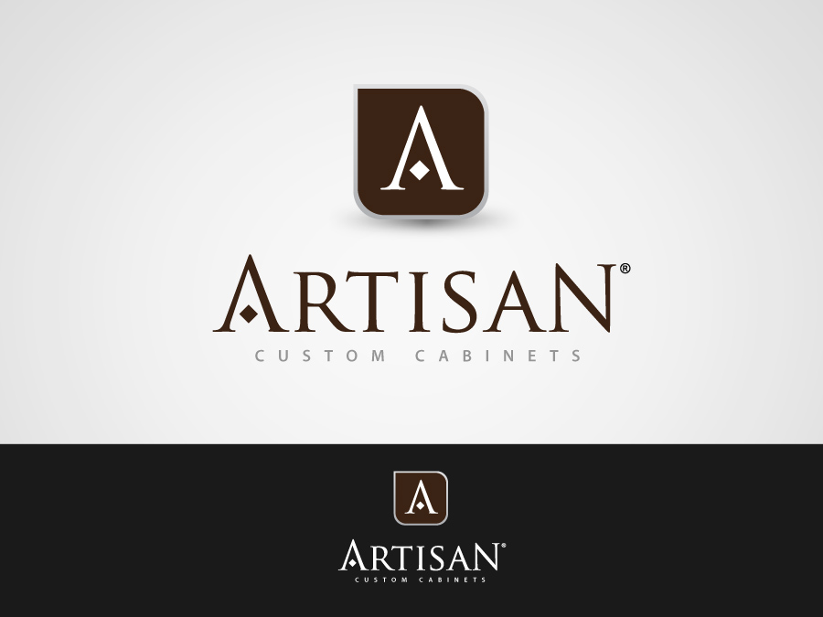 Logo Design by jpbituin - Entry No. 160 in the Logo Design Contest Creative Logo Design for Artisan Custom Cabinets.