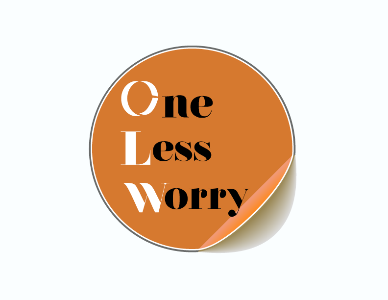 Logo Design by Shab Great - Entry No. 43 in the Logo Design Contest Creative Logo Design for FS - One Less Worry.