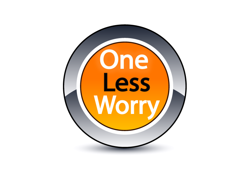 Logo Design by Shab Great - Entry No. 44 in the Logo Design Contest Creative Logo Design for FS - One Less Worry.