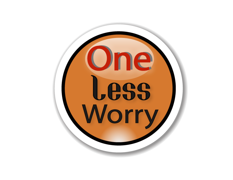 Logo Design by Shab Great - Entry No. 45 in the Logo Design Contest Creative Logo Design for FS - One Less Worry.