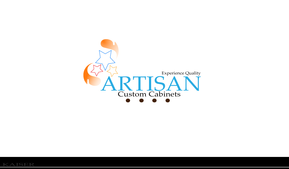 Logo Design by Leonard Anthony Alloso - Entry No. 162 in the Logo Design Contest Creative Logo Design for Artisan Custom Cabinets.