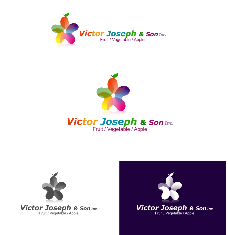 Logo Design by Private User - Entry No. 89 in the Logo Design Contest Imaginative Logo Design for Victor Joseph & Son, Inc..