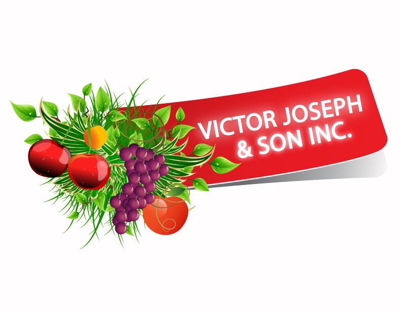 Logo Design by Nadia Khan - Entry No. 90 in the Logo Design Contest Imaginative Logo Design for Victor Joseph & Son, Inc..