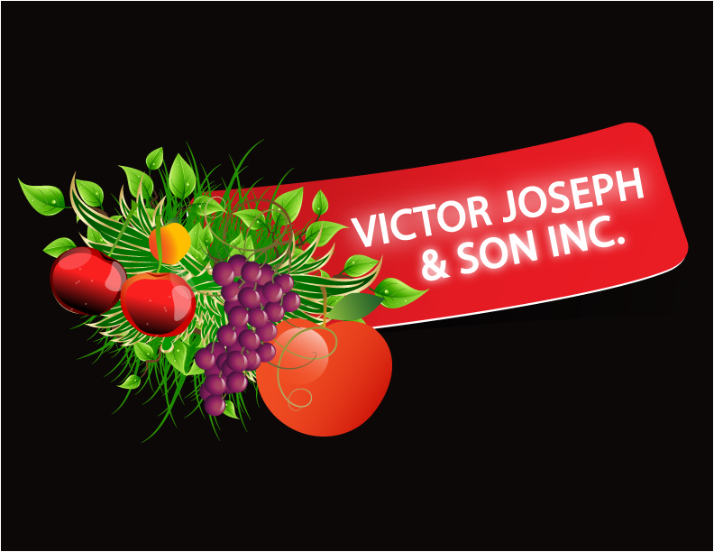 Logo Design by Nadia Khan - Entry No. 91 in the Logo Design Contest Imaginative Logo Design for Victor Joseph & Son, Inc..