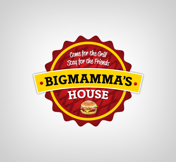 Logo Design by Dimitris Koletsis - Entry No. 49 in the Logo Design Contest Captivating Logo Design for Big Mamma's House.