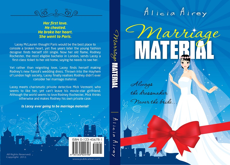 Book Cover Design by kowreck - Entry No. 17 in the Book Cover Design Contest Book Cover Design for Chic Lit Novel: Marriage Material.