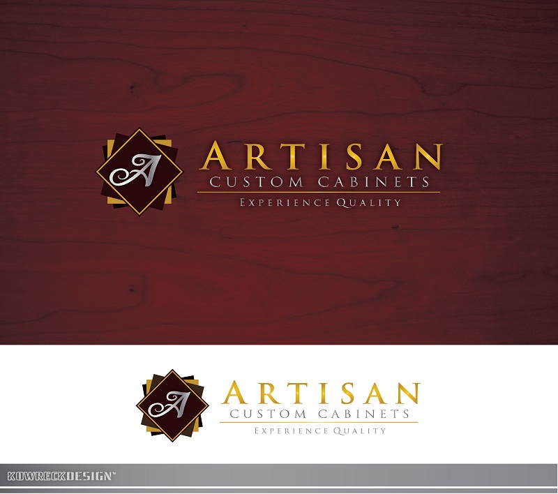 Logo Design by kowreck - Entry No. 167 in the Logo Design Contest Creative Logo Design for Artisan Custom Cabinets.