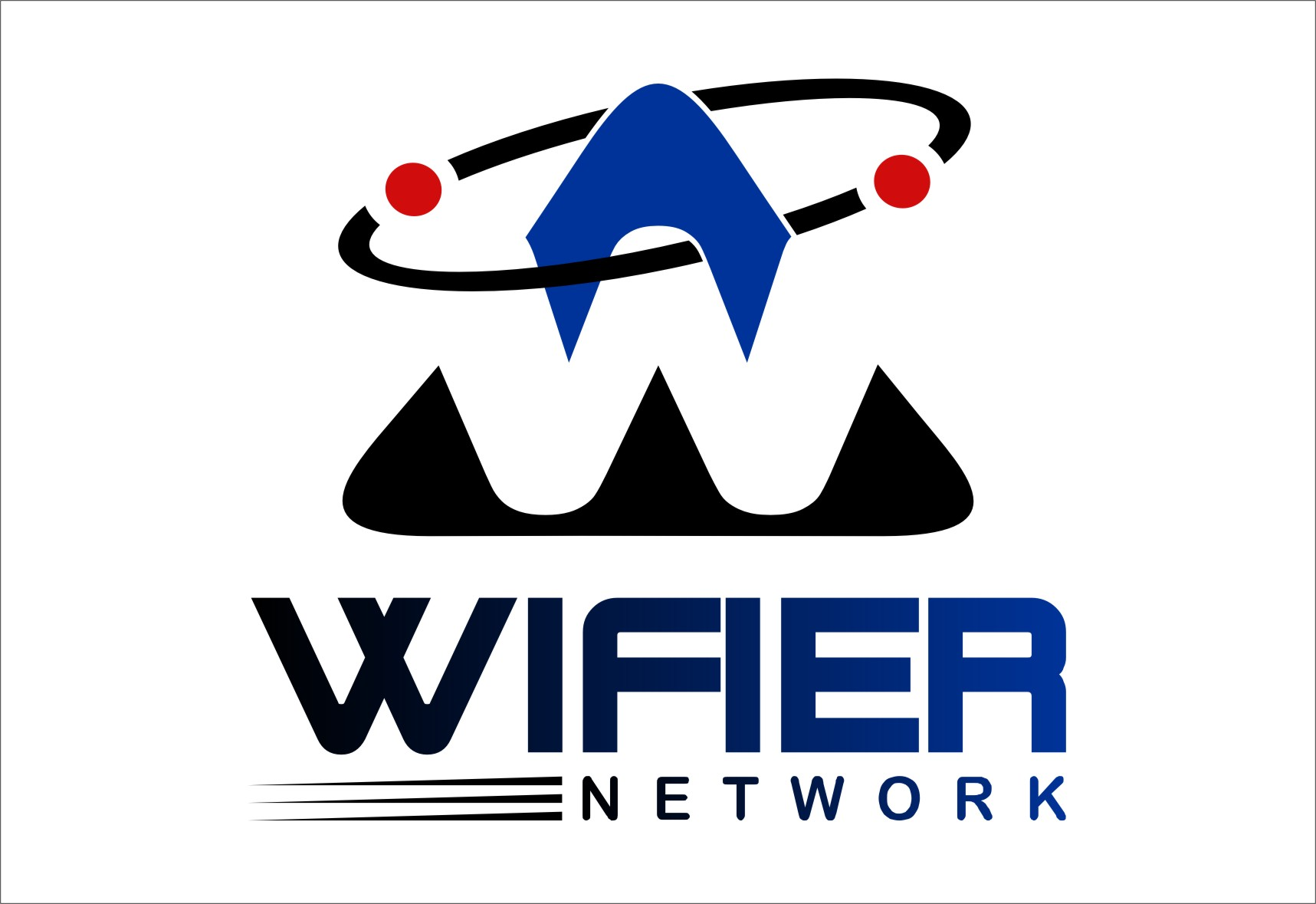 Logo Design by RoSyid Rono-Rene On Java - Entry No. 218 in the Logo Design Contest New Logo Design for Wifier Network.