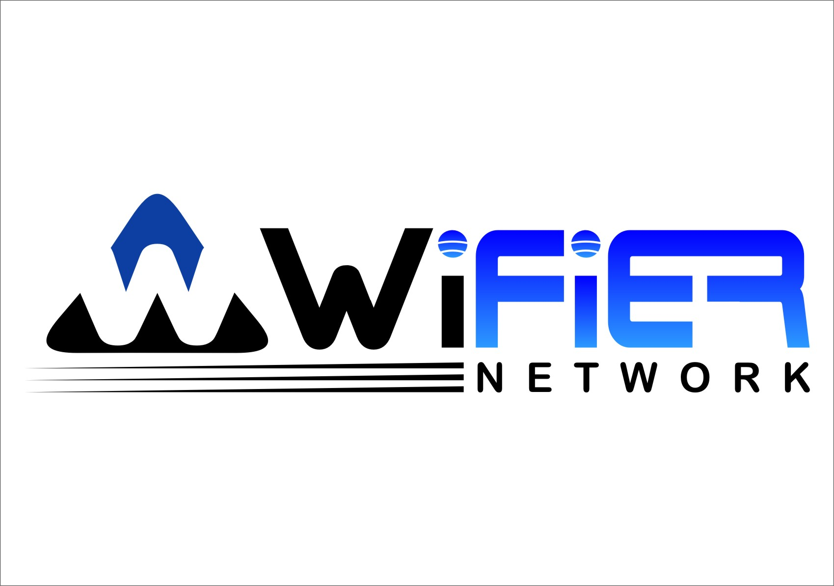 Logo Design by RasYa Muhammad Athaya - Entry No. 219 in the Logo Design Contest New Logo Design for Wifier Network.