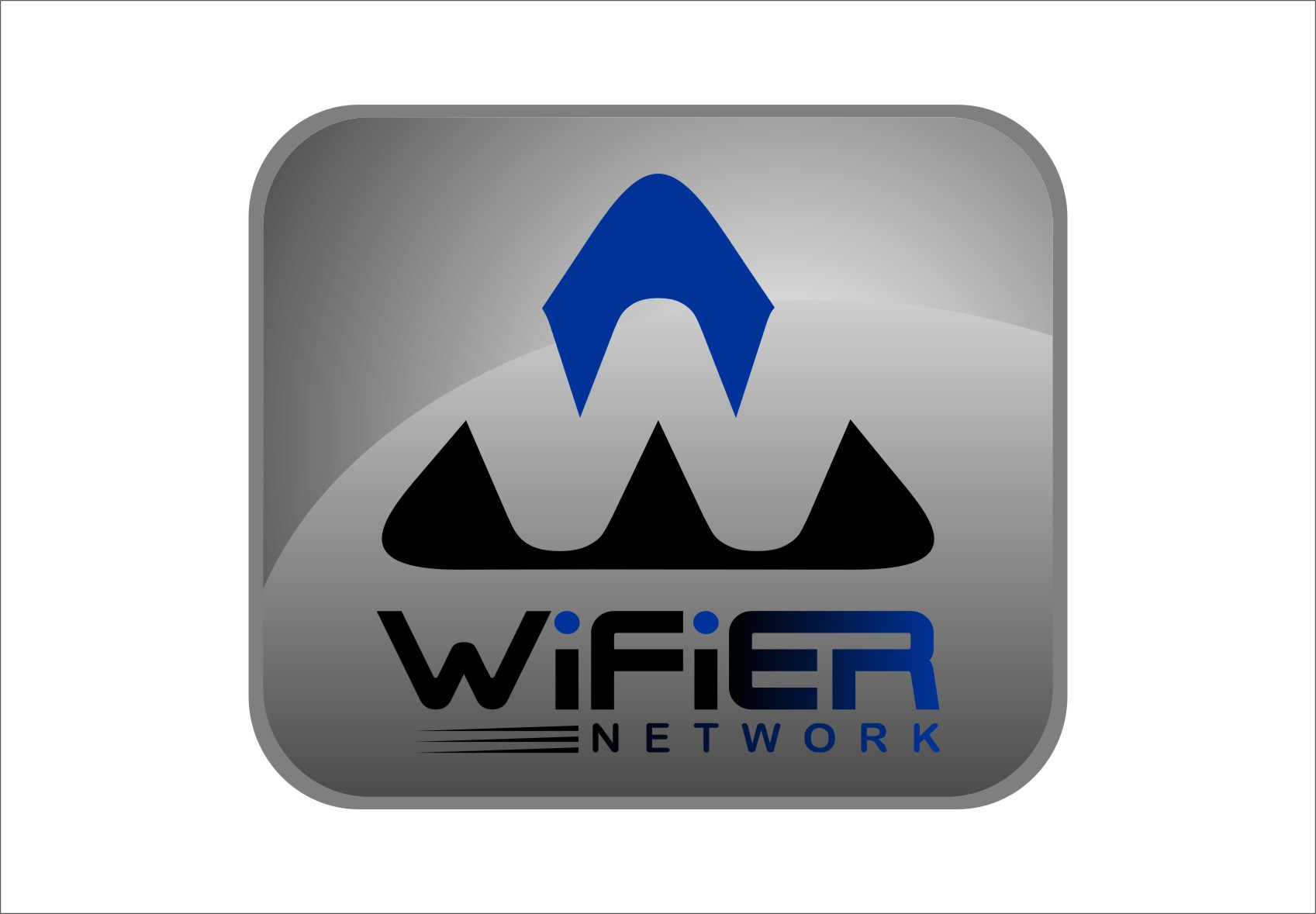 Logo Design by Ngepet_art - Entry No. 220 in the Logo Design Contest New Logo Design for Wifier Network.