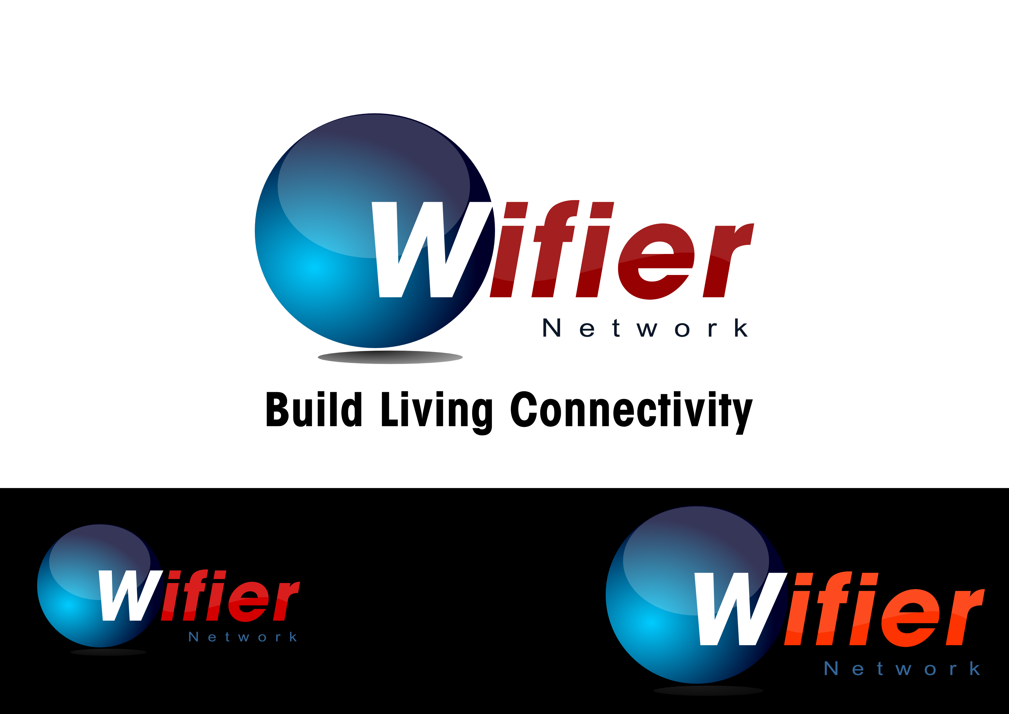 Logo Design by whoosef - Entry No. 222 in the Logo Design Contest New Logo Design for Wifier Network.