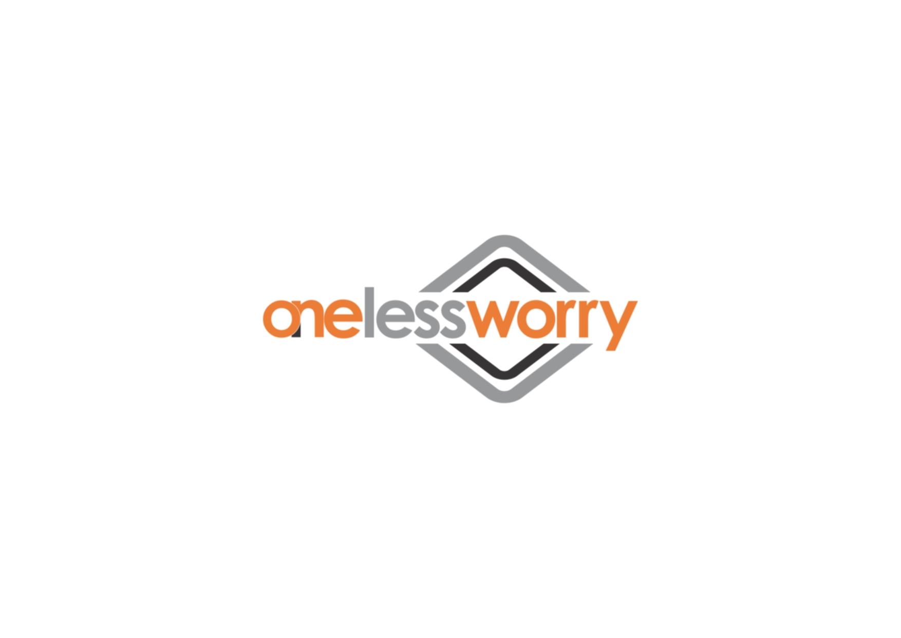Logo Design by Private User - Entry No. 47 in the Logo Design Contest Creative Logo Design for FS - One Less Worry.