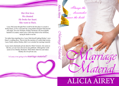 Book Cover Design by keekee360 - Entry No. 18 in the Book Cover Design Contest Book Cover Design for Chic Lit Novel: Marriage Material.