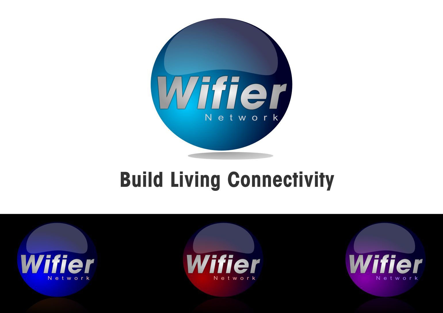 Logo Design by whoosef - Entry No. 225 in the Logo Design Contest New Logo Design for Wifier Network.