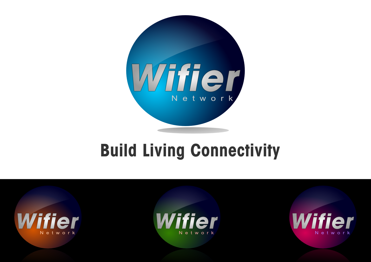 Logo Design by whoosef - Entry No. 228 in the Logo Design Contest New Logo Design for Wifier Network.