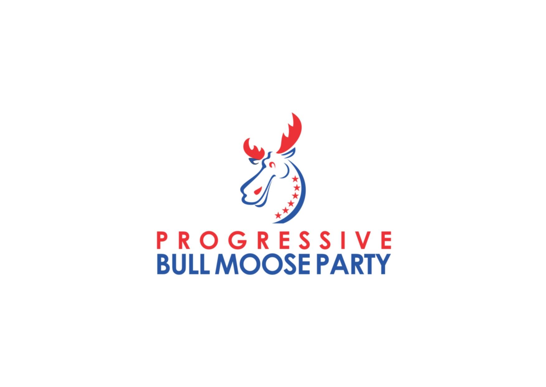 Logo Design by Private User - Entry No. 27 in the Logo Design Contest Progressive Bull Moose Party Logo Design.