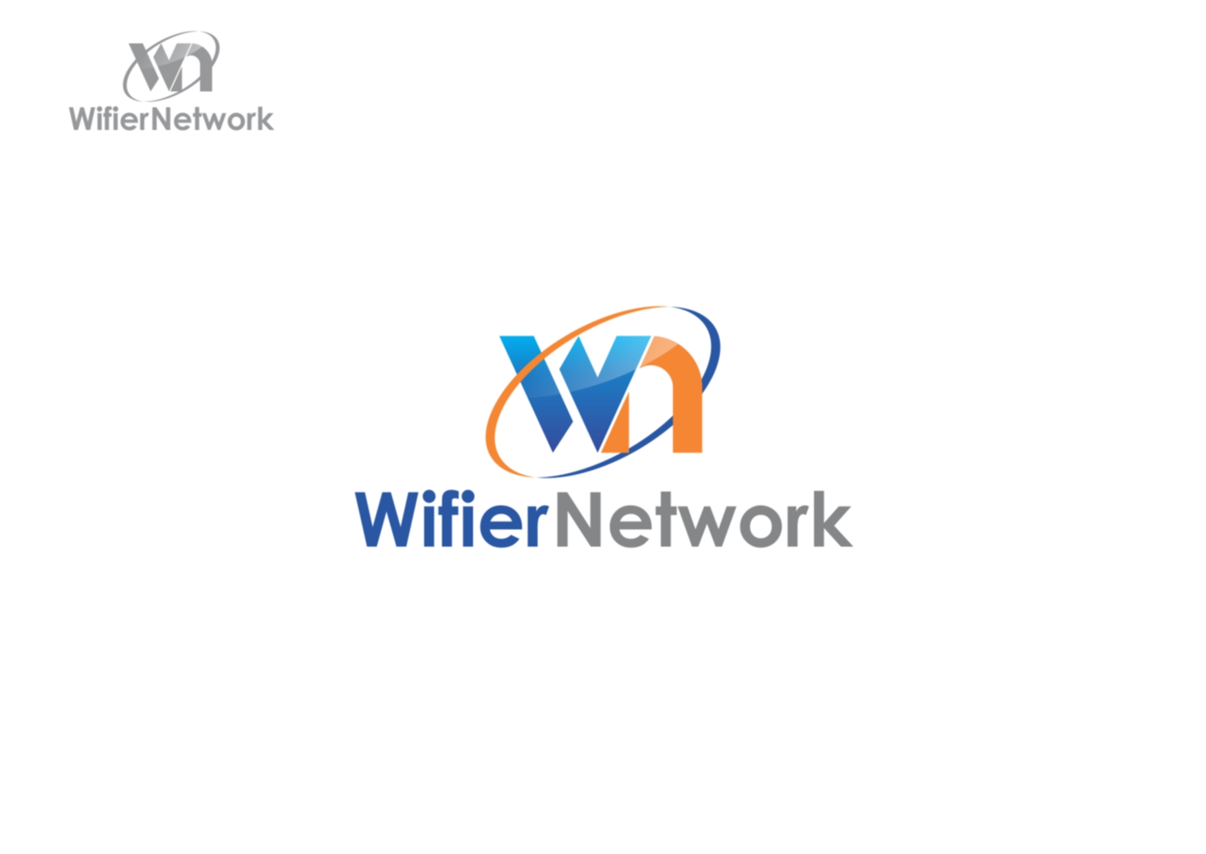 Logo Design by Private User - Entry No. 229 in the Logo Design Contest New Logo Design for Wifier Network.
