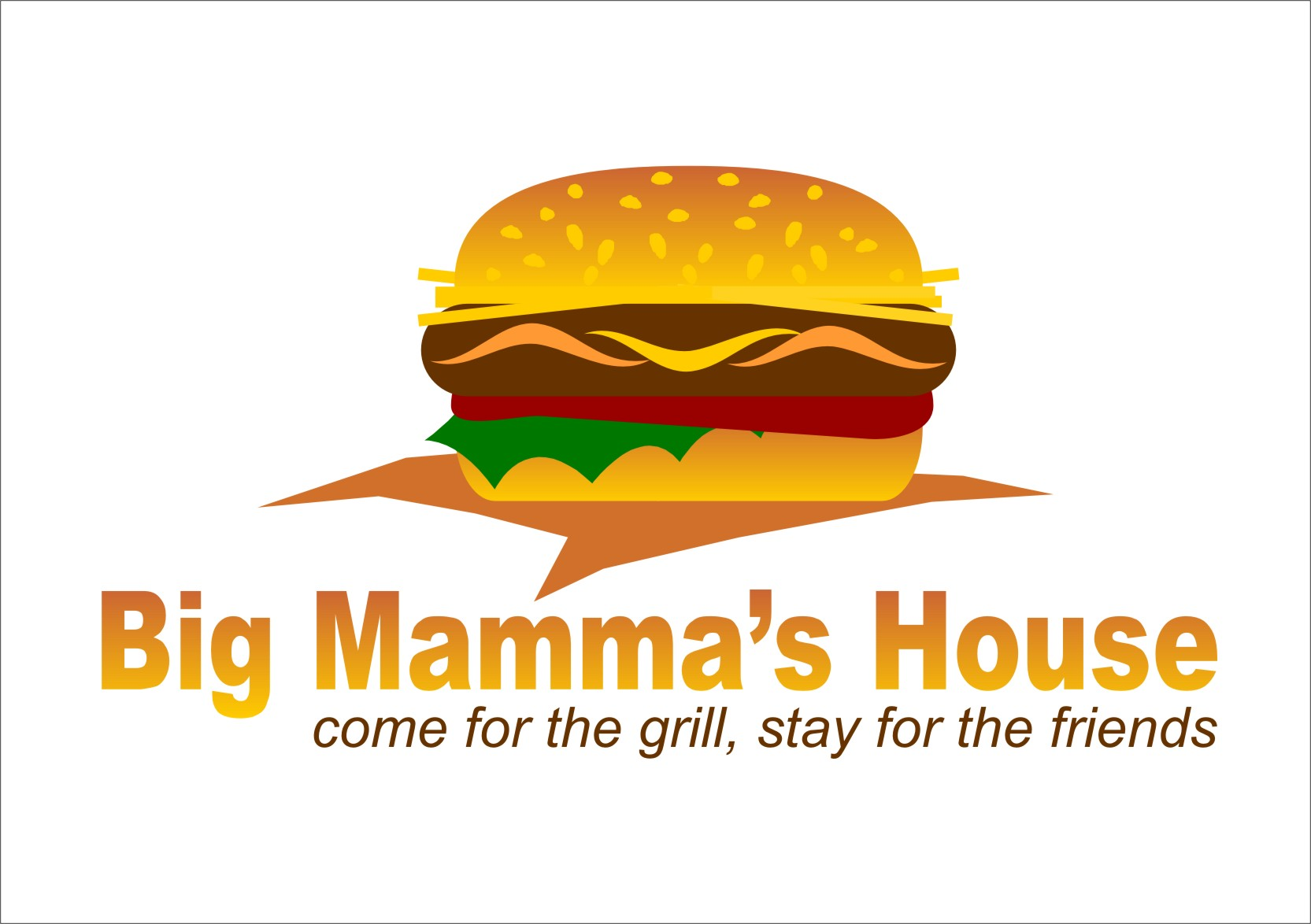 Logo Design by RasYa Muhammad Athaya - Entry No. 51 in the Logo Design Contest Captivating Logo Design for Big Mamma's House.