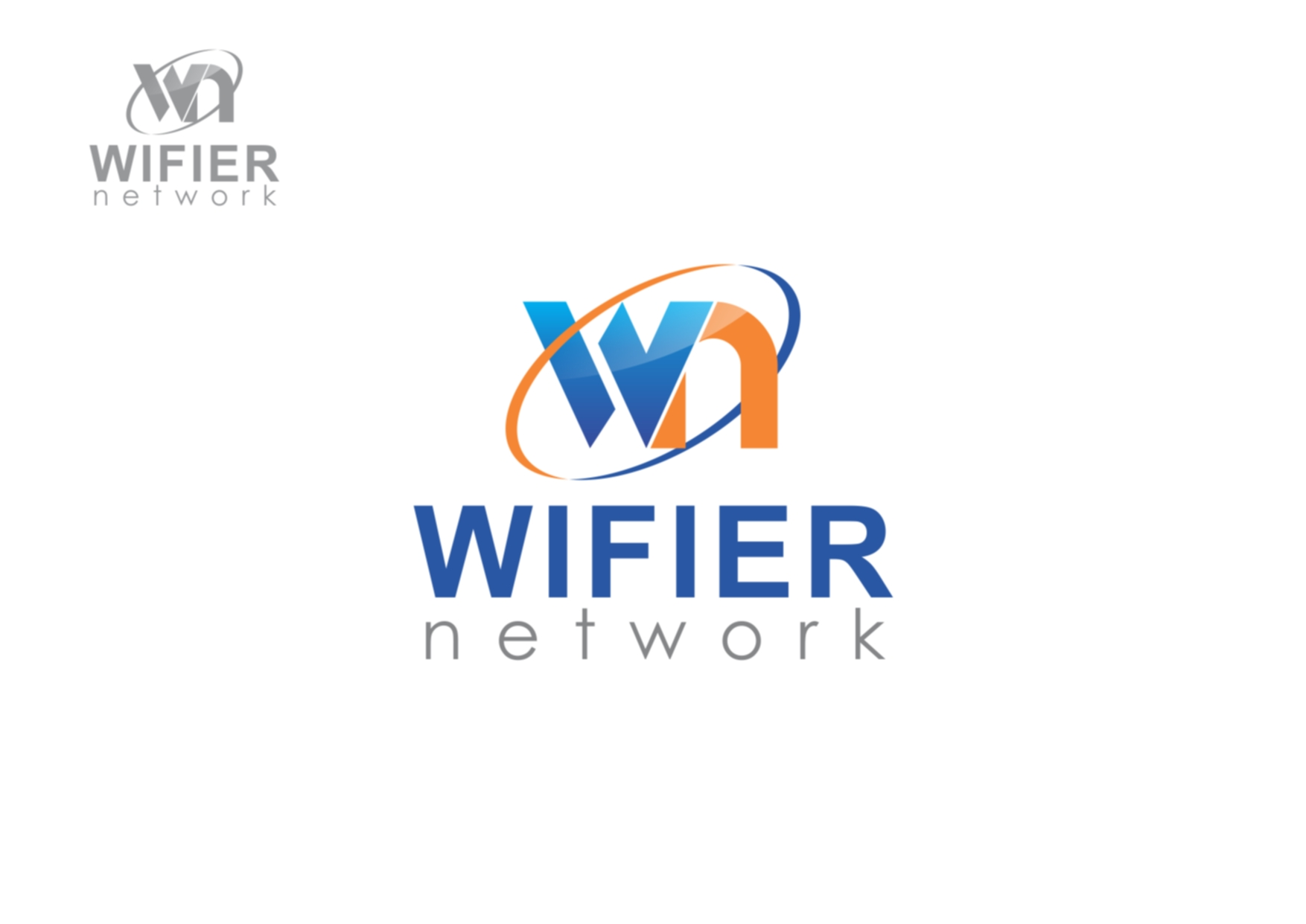 Logo Design by Private User - Entry No. 236 in the Logo Design Contest New Logo Design for Wifier Network.