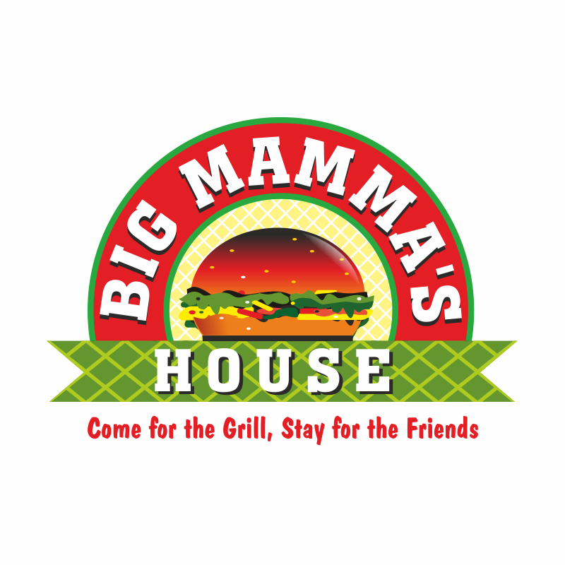 Logo Design by montoshlall - Entry No. 52 in the Logo Design Contest Captivating Logo Design for Big Mamma's House.