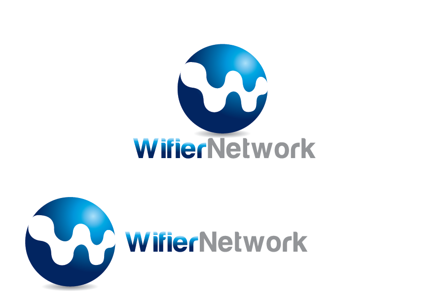 Logo Design by Muhammad Moinjaved - Entry No. 250 in the Logo Design Contest New Logo Design for Wifier Network.
