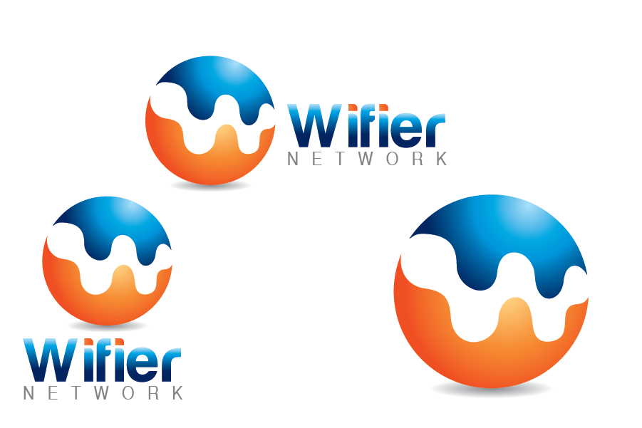 Logo Design by Muhammad Moinjaved - Entry No. 251 in the Logo Design Contest New Logo Design for Wifier Network.