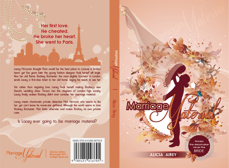 Book Cover Design by lagalag - Entry No. 21 in the Book Cover Design Contest Book Cover Design for Chic Lit Novel: Marriage Material.