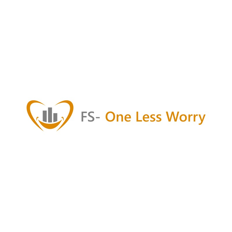 Logo Design by untung - Entry No. 54 in the Logo Design Contest Creative Logo Design for FS - One Less Worry.
