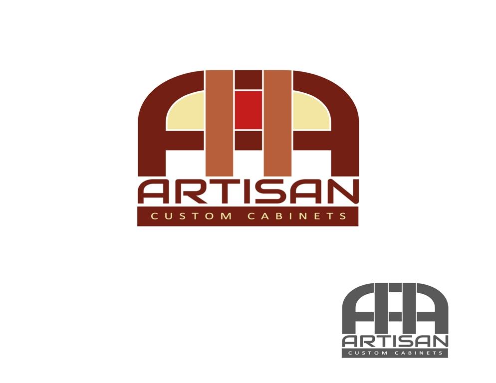 Logo Design by Juan_Kata - Entry No. 175 in the Logo Design Contest Creative Logo Design for Artisan Custom Cabinets.