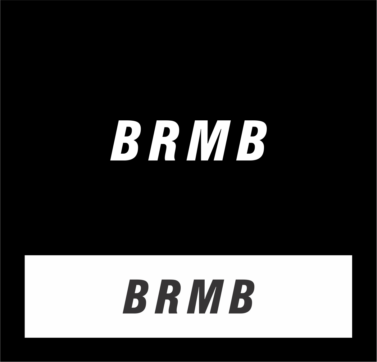 Logo Design by haidu - Entry No. 9 in the Logo Design Contest Fun Logo Design for BRMB.
