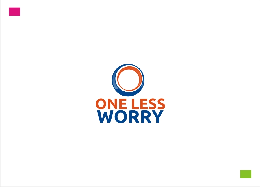 Logo Design by Private User - Entry No. 56 in the Logo Design Contest Creative Logo Design for FS - One Less Worry.