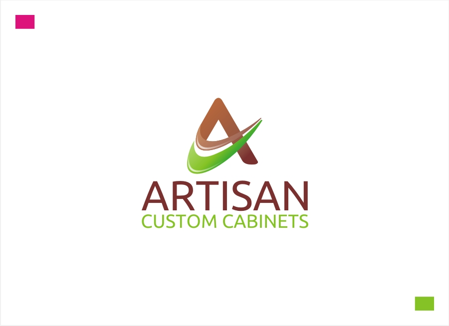 Logo Design by Private User - Entry No. 176 in the Logo Design Contest Creative Logo Design for Artisan Custom Cabinets.