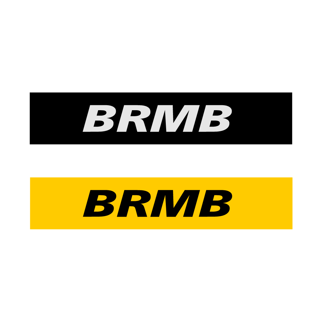 Logo Design by rockin - Entry No. 11 in the Logo Design Contest Fun Logo Design for BRMB.