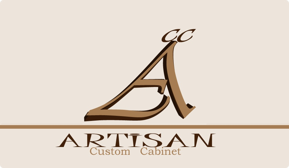 Logo Design by Batang Yagit - Entry No. 189 in the Logo Design Contest Creative Logo Design for Artisan Custom Cabinets.