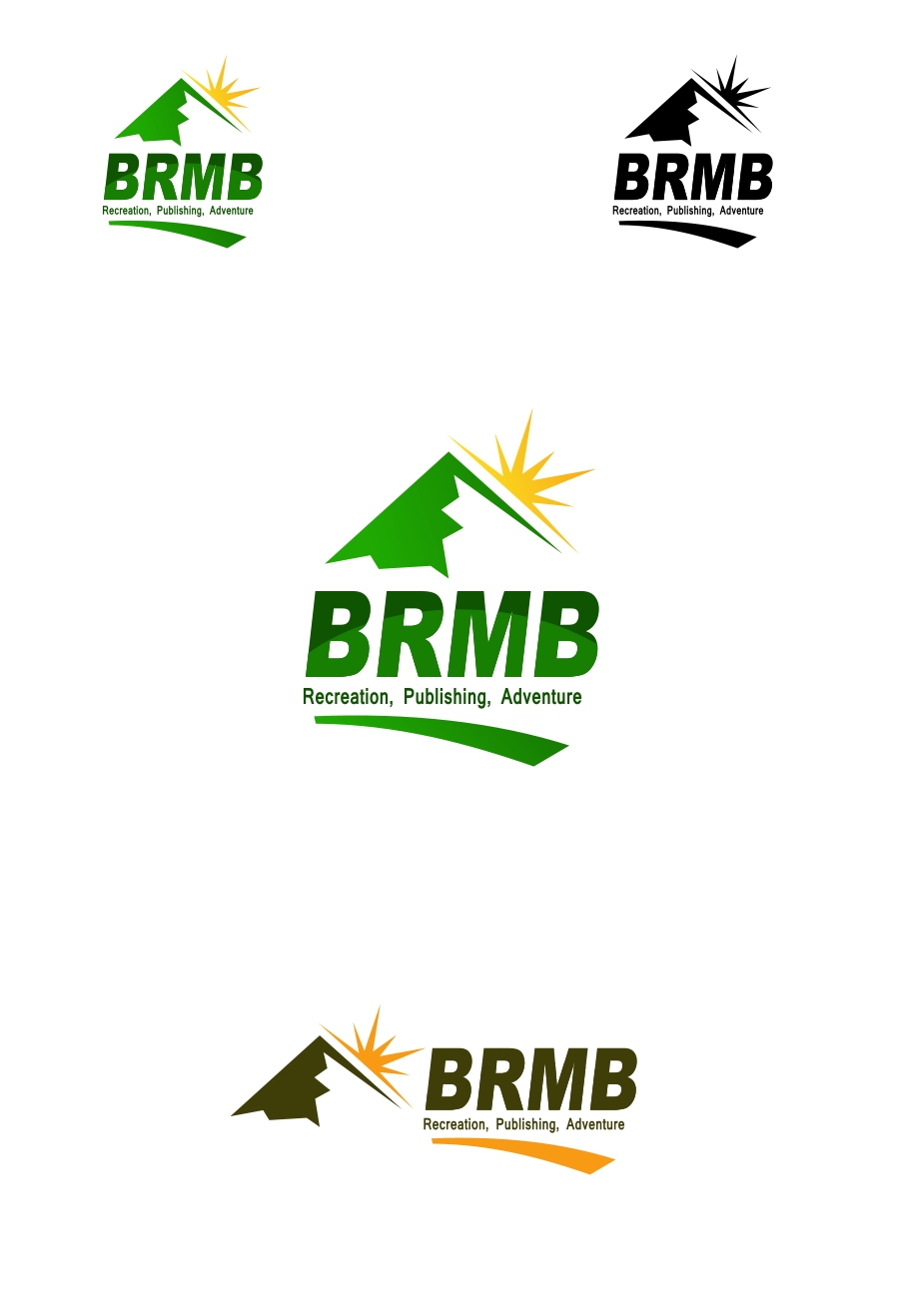 Logo Design by Private User - Entry No. 18 in the Logo Design Contest Fun Logo Design for BRMB.