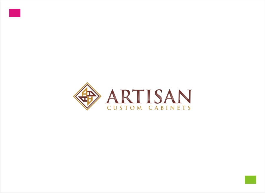 Logo Design by Private User - Entry No. 191 in the Logo Design Contest Creative Logo Design for Artisan Custom Cabinets.