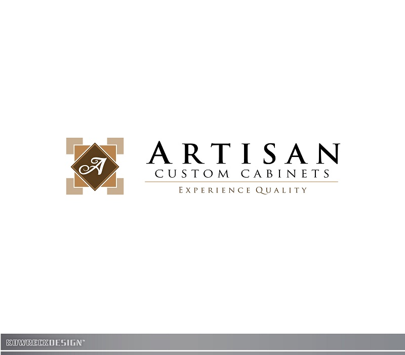 Logo Design by kowreck - Entry No. 194 in the Logo Design Contest Creative Logo Design for Artisan Custom Cabinets.