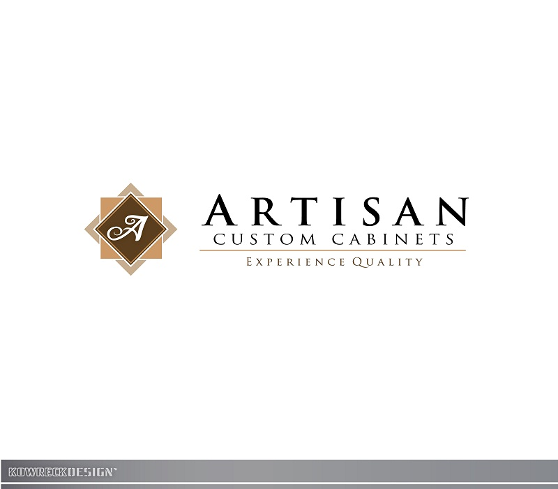 Logo Design by kowreck - Entry No. 195 in the Logo Design Contest Creative Logo Design for Artisan Custom Cabinets.