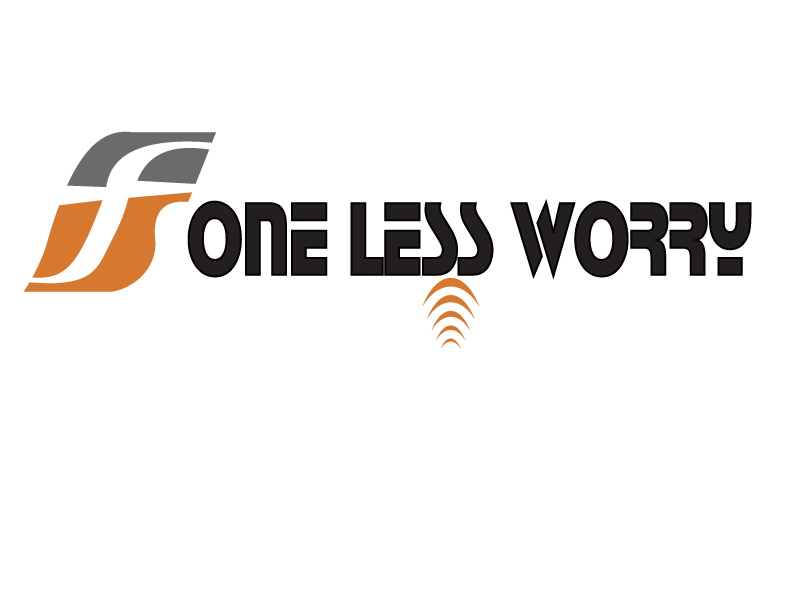 Logo Design by Shab Great - Entry No. 57 in the Logo Design Contest Creative Logo Design for FS - One Less Worry.