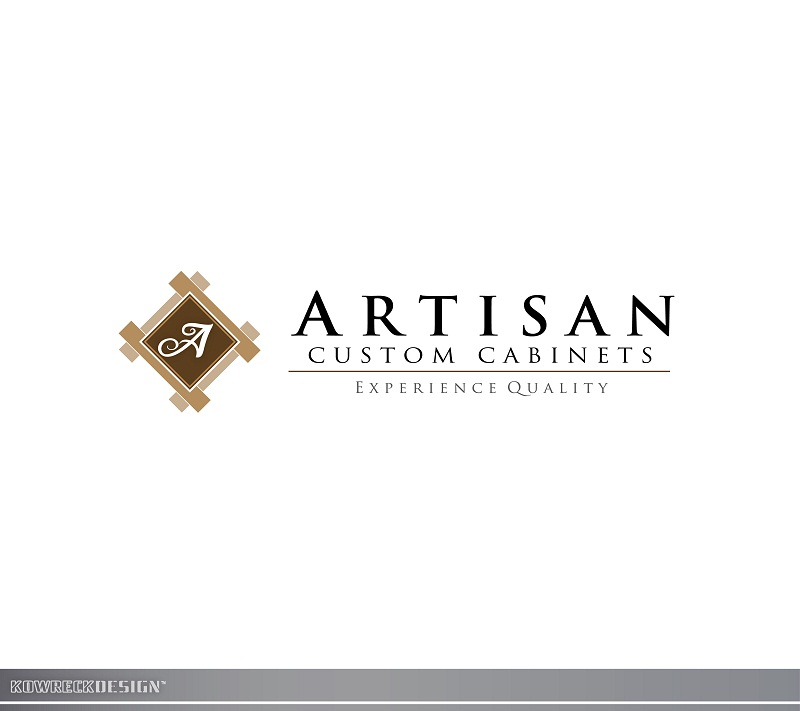Logo Design by kowreck - Entry No. 197 in the Logo Design Contest Creative Logo Design for Artisan Custom Cabinets.