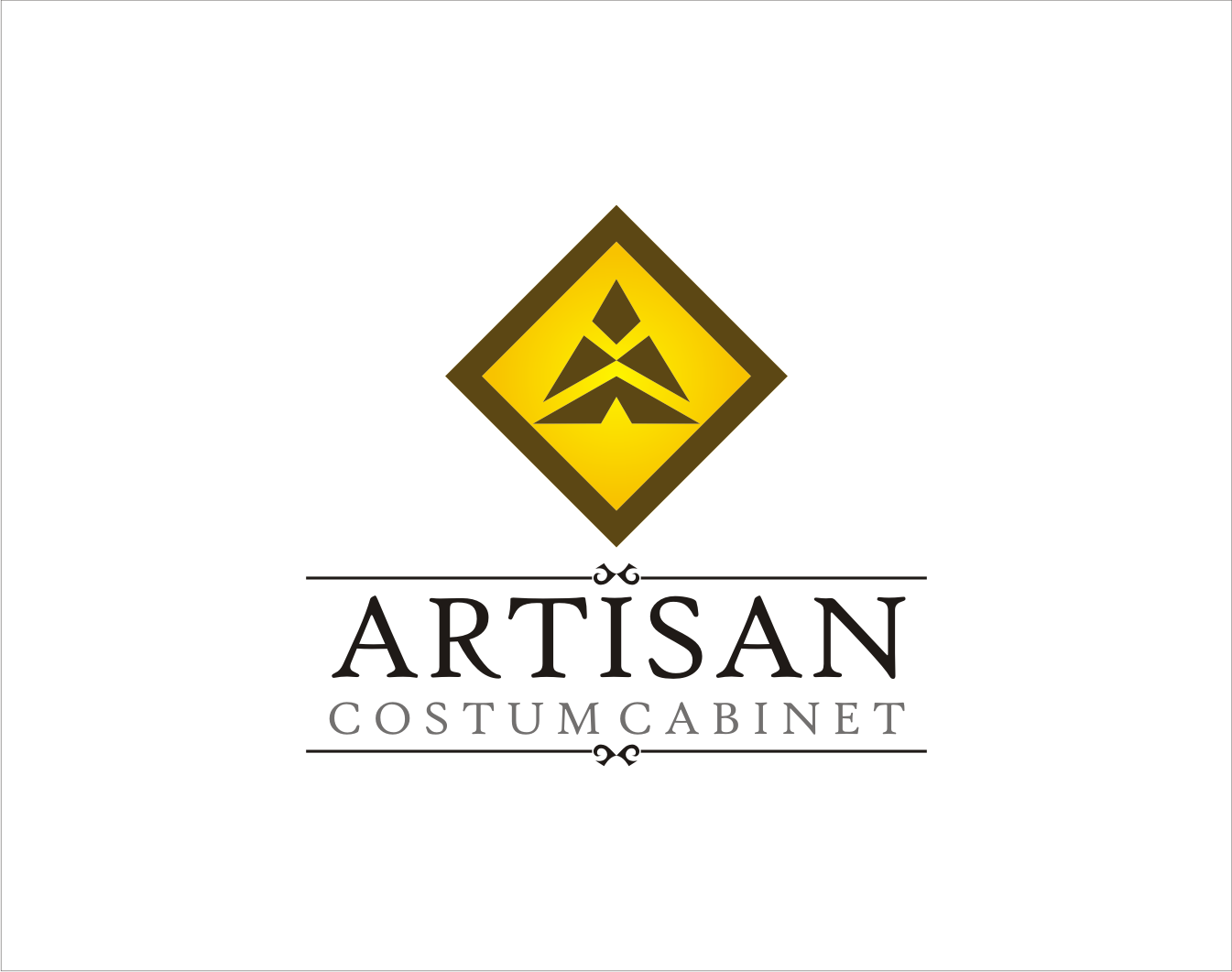 Logo Design by Armada Jamaluddin - Entry No. 198 in the Logo Design Contest Creative Logo Design for Artisan Custom Cabinets.