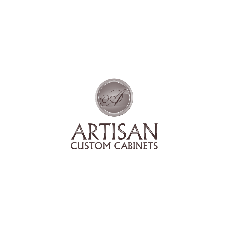 Logo Design by hkdesign - Entry No. 201 in the Logo Design Contest Creative Logo Design for Artisan Custom Cabinets.