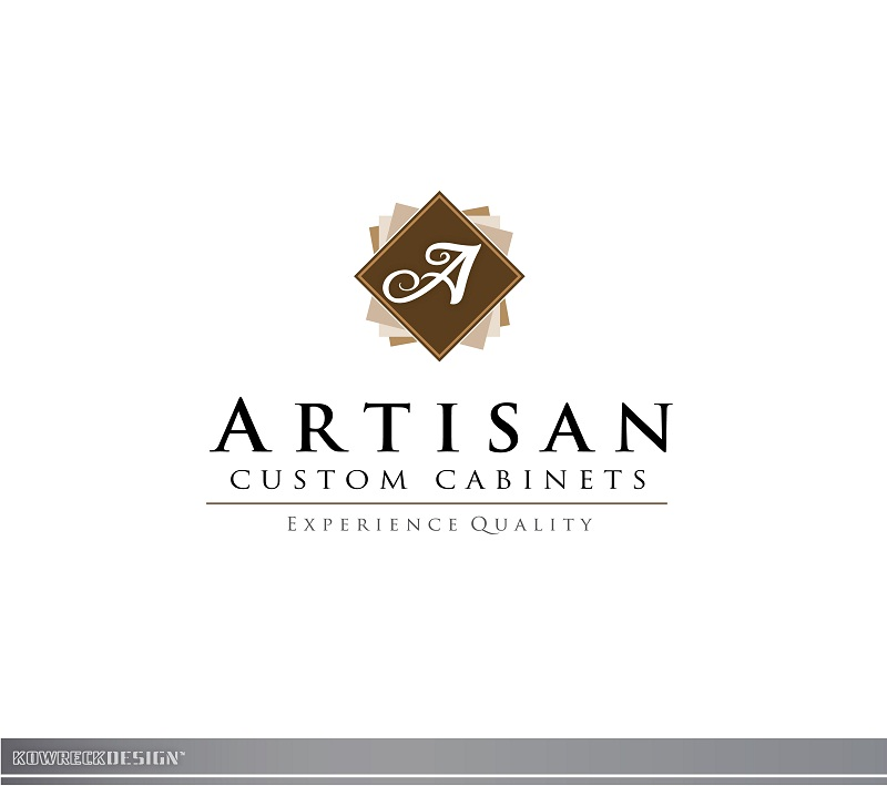 Logo Design by kowreck - Entry No. 205 in the Logo Design Contest Creative Logo Design for Artisan Custom Cabinets.