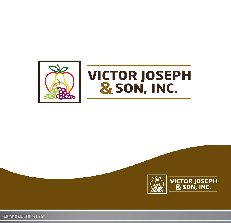 Logo Design by kowreck - Entry No. 112 in the Logo Design Contest Imaginative Logo Design for Victor Joseph & Son, Inc..