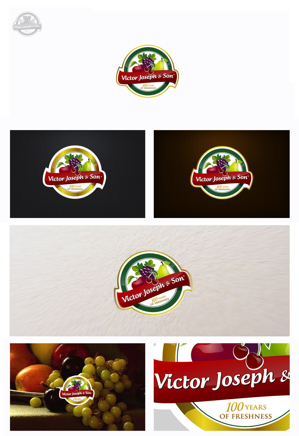 Logo Design by jpbituin - Entry No. 116 in the Logo Design Contest Imaginative Logo Design for Victor Joseph & Son, Inc..