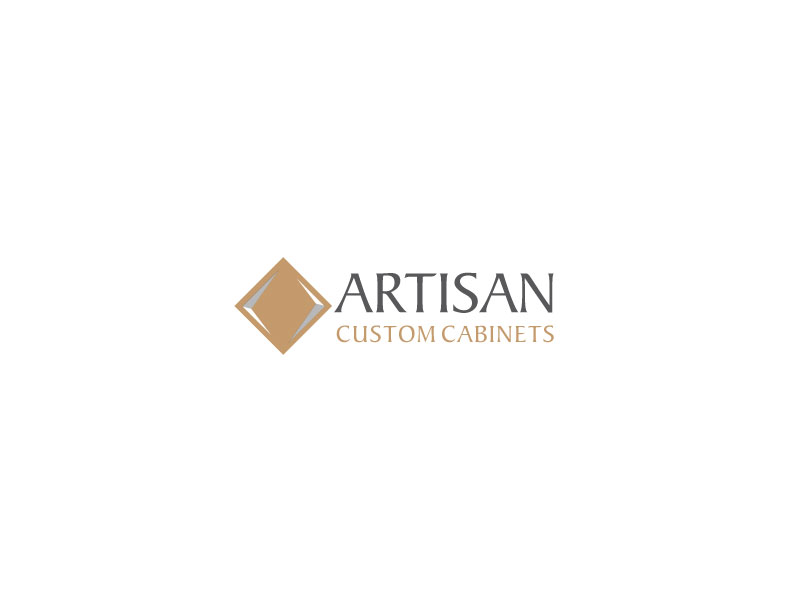 Logo Design by Mahir Hamzic - Entry No. 210 in the Logo Design Contest Creative Logo Design for Artisan Custom Cabinets.