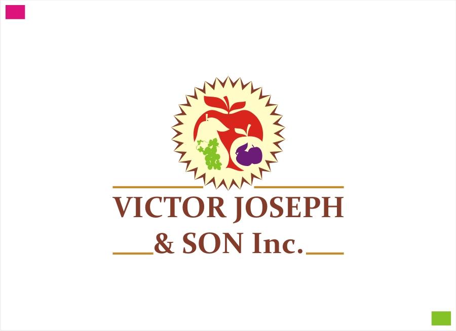 Logo Design by Private User - Entry No. 120 in the Logo Design Contest Imaginative Logo Design for Victor Joseph & Son, Inc..