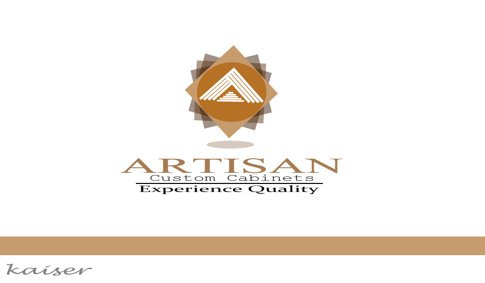 Logo Design by Leonard Anthony Alloso - Entry No. 212 in the Logo Design Contest Creative Logo Design for Artisan Custom Cabinets.