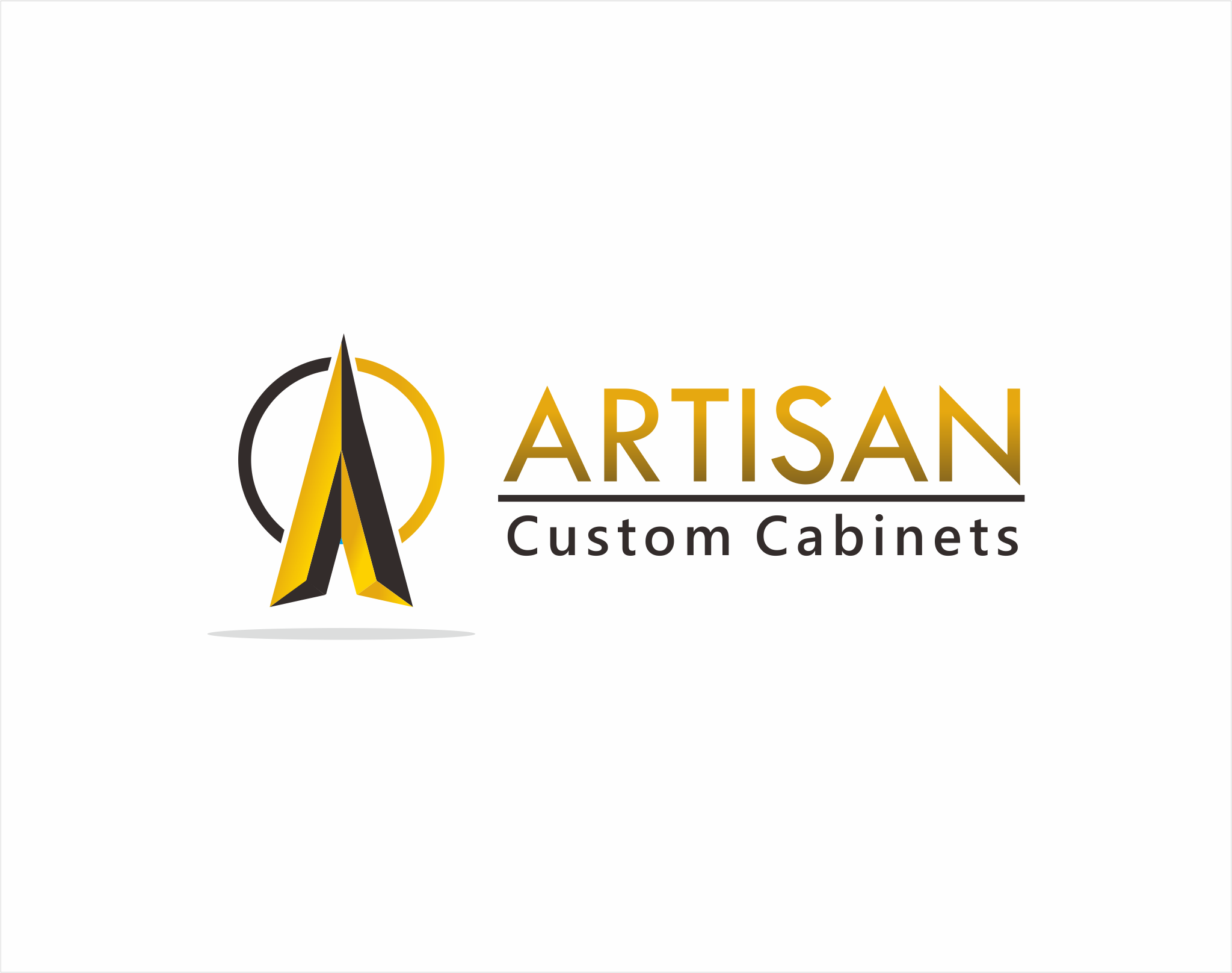 Logo Design by Armada Jamaluddin - Entry No. 215 in the Logo Design Contest Creative Logo Design for Artisan Custom Cabinets.