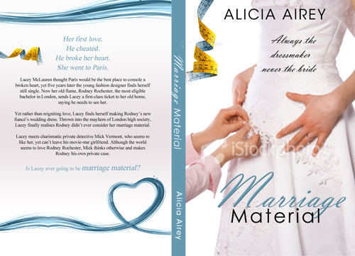 Book Cover Design by keekee360 - Entry No. 27 in the Book Cover Design Contest Book Cover Design for Chic Lit Novel: Marriage Material.